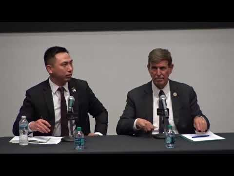 Thomas Oh Takes On Don Beyer in 1st Debate