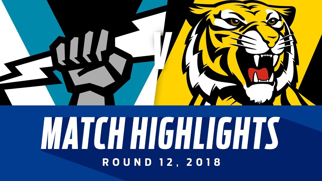 Port Adelaide v Richmond Highlights ...