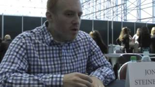 Interview with Black Sails' Jonathan Steinberg @ NYCC 2013