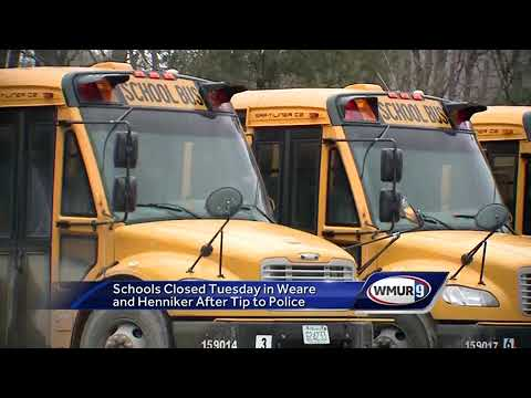 Schools closed Tuesday in Weare, Henniker after tip to police