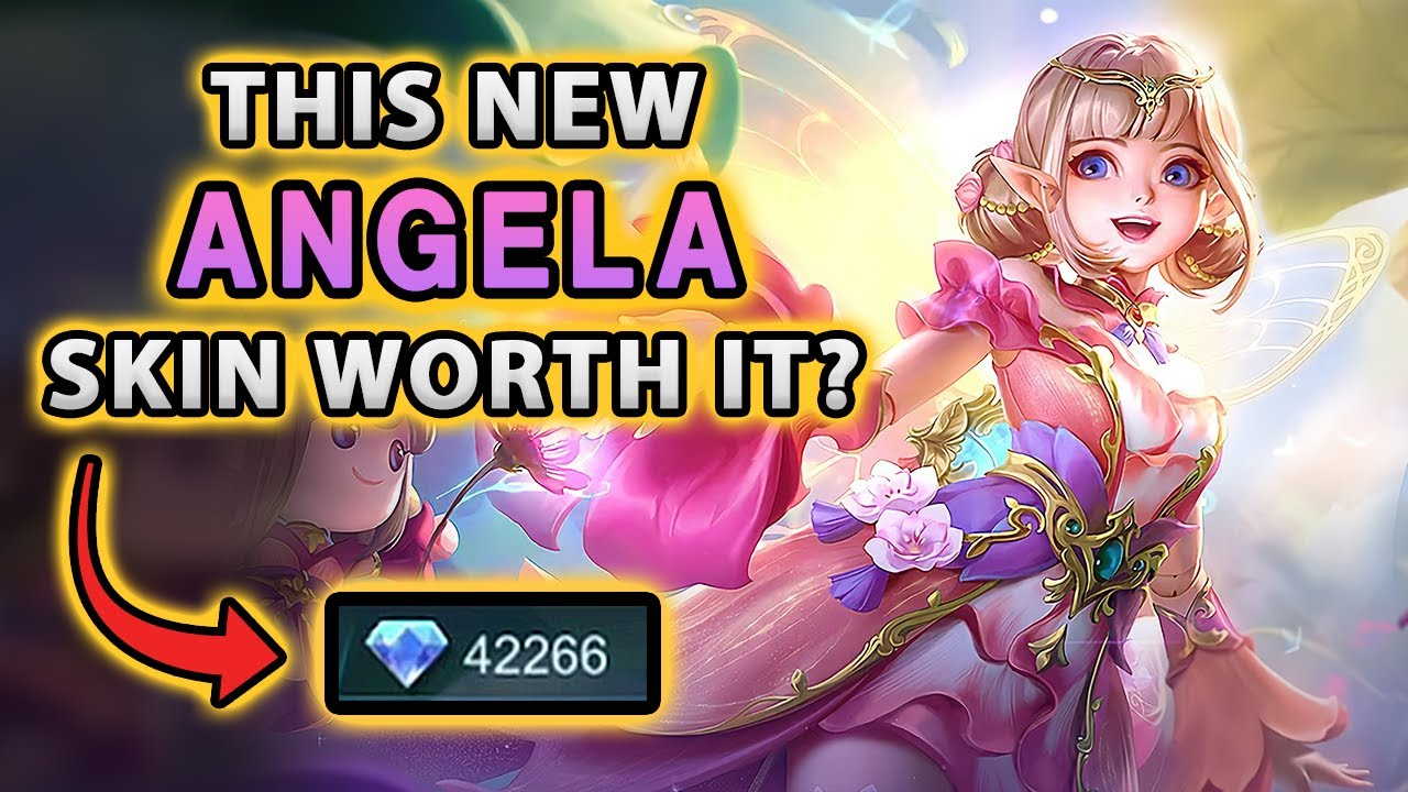 Wow! This New Angela Skin Gives You The Power Of Friendship   Mobile Legends