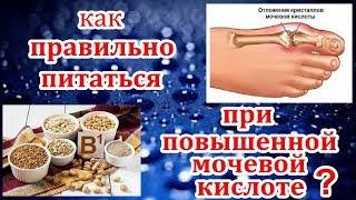 Продукты которые помогут вывести мочевую кислоту из организма.