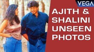 Hero Ajith And Shalini Unseen Photos  || AJITH || SHALINI