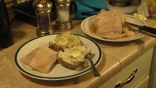 Roast Pork With A Maple And Mustard Glaze