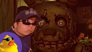Quackity Finishes Five Nights at Freddy's 3