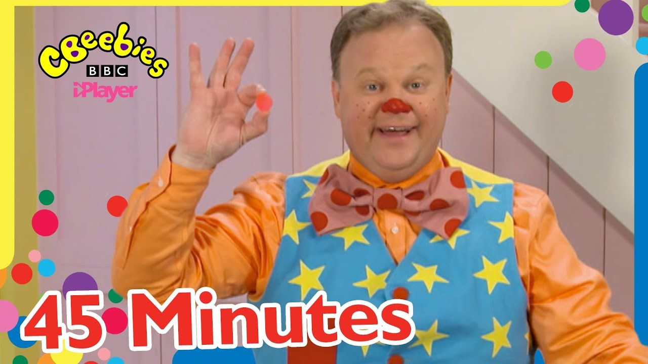 Mr Tumble's New Bouncy Ball and more! | 45+ Minutes Compilation | CBeebies