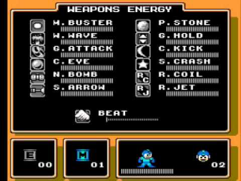 Mega Man Energy Refill for 10 Hours