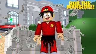 ROBLOX - *NEW* ROB THE MASION OBBY!!