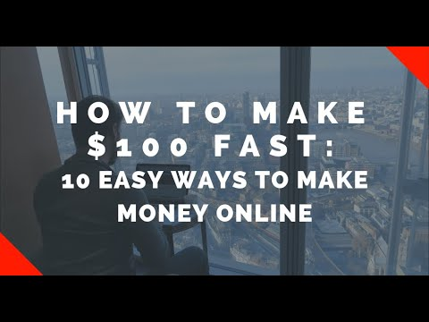 How to MAKE MONEY ONLINE: 10 Easy Ways to Make $100 Today | Location Rebel