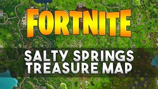 Follow the Treasure Map Found in Salty Springs - Fortnite Week 3 Challenge