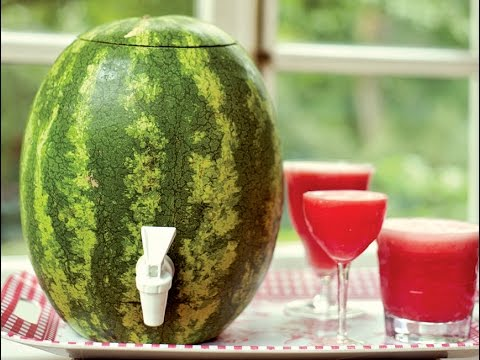 DIY: Summer Watermelon Keg - Party HIT!