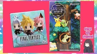 Pokemon Rement And Final Fantasy Trading Art Unboxing ????