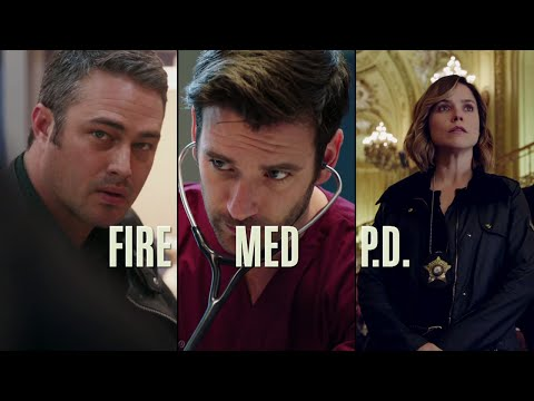 Chicago Trilogy Crossover Event Promo - Chicago Fire, Chicago PD, Chicago Med (HD)