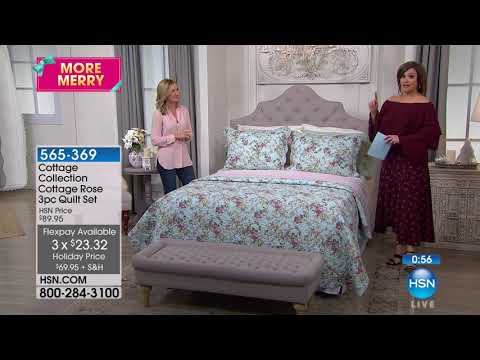 HSN | Cottage Collection Quilt Shoppe 10.17.2017 - 01 PM