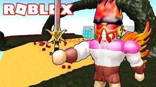 ZONA de LAVA y LA ESPADA MAS PODEROSA! 📦 Roblox Unboxing Simulator