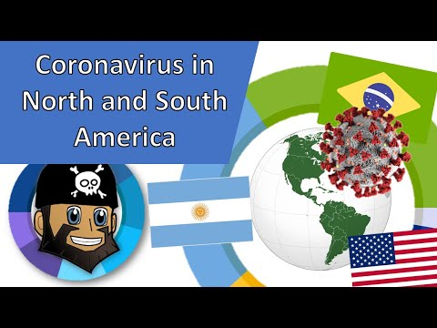 Daily New Coronavirus Cases by Country North and South America, October Update