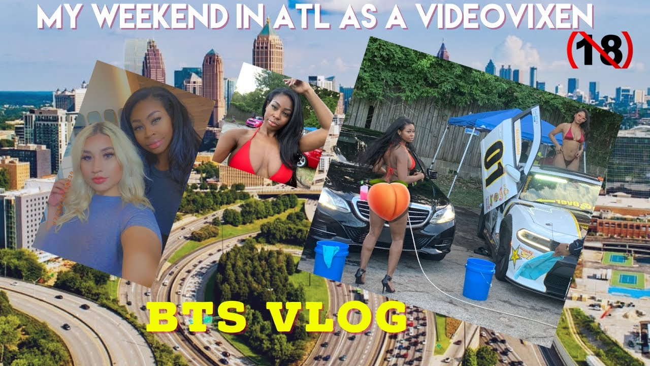 VIDEO VIXEN: BEHIND THE SCENES IN ATLANTA GEORGIA FOR THE WEEKEND VLOG