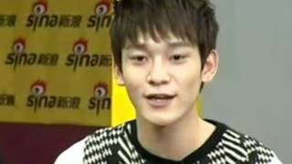"EXO-M Chen sings Wang Lee Hom ""Forever Love"""