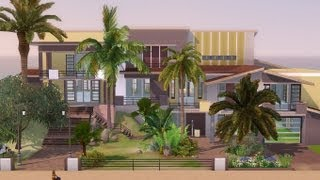 The Sims 3 - House Building - Ocean Sunrise