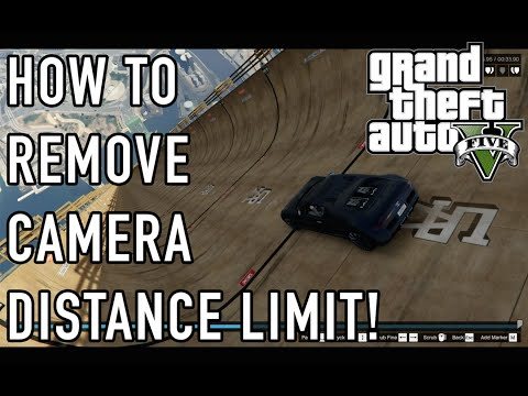 How To Get Rid of Camera Distance Limit in GTA 5 (Rockstar Video Editor)