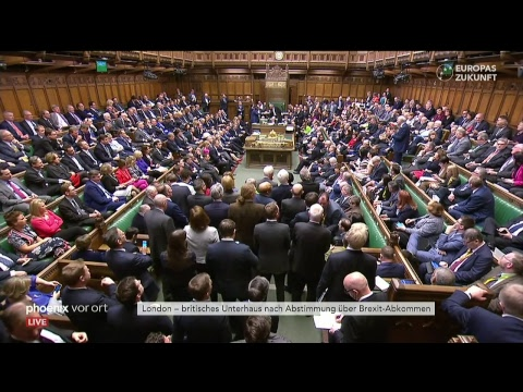 Brexit Abstimmung Unterhaus