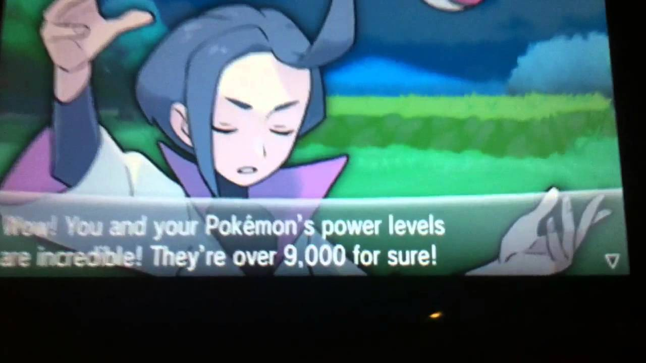 9000 Pokemon Pokemon X/y is Over 9000 For