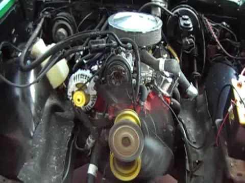 dodge 2 4 engine diagram piso wifi wiring 1984 truck 318 - youtube