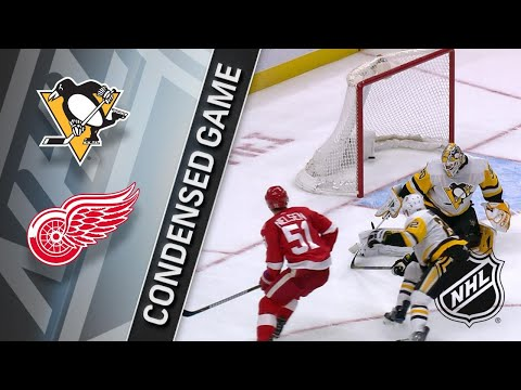 12/31/17 Condensed Game: Penguins @ Red Wings