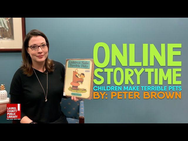 Online Storytime: Children Make Terrible Pets by Peter Brown