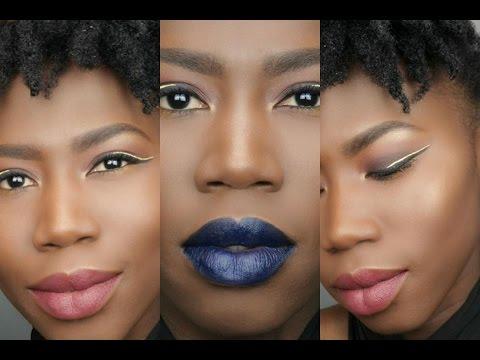Ongekend Make up voor donkere huid /Dark skin Makeup   MAKEUP LOVE VOOR QZ-75