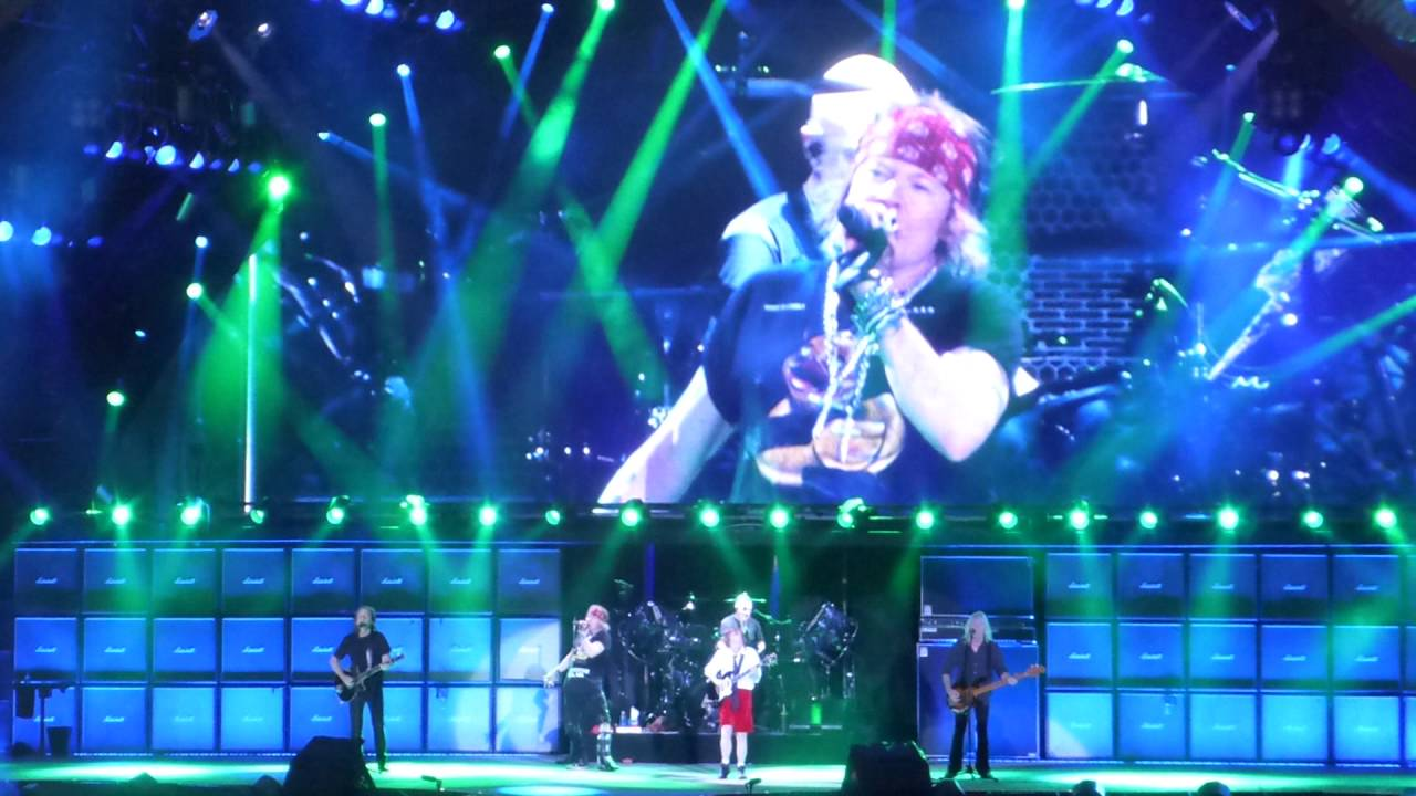 Ac Dc W Axl Rose Touch Too Much Live In Aarhus June 12th