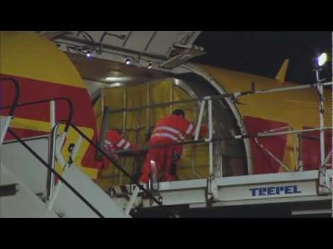 DHL delivers F1 logistics to the world