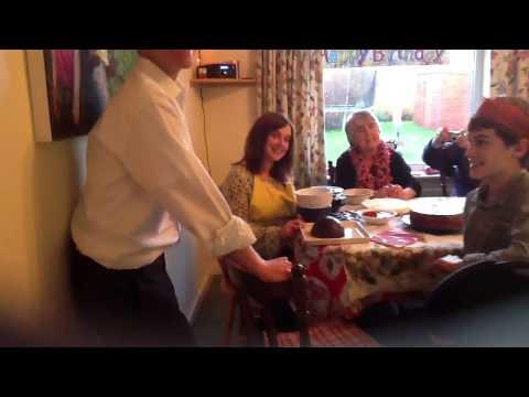 Sewall family christmas pudding song