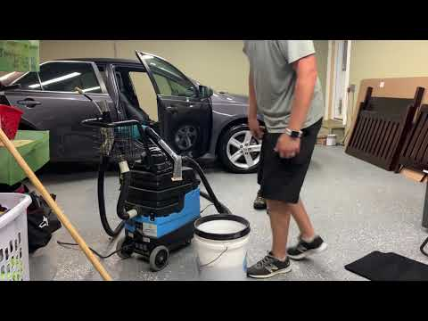 Mytee 8070 carpet extractor and doing interiors right