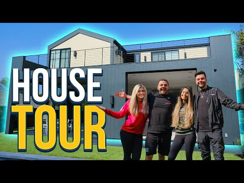 TOURING THE BEST CONTENT HOUSE IN GAMING Ft. CouRage, Valkyrae, Nadeshot & BrookeAB