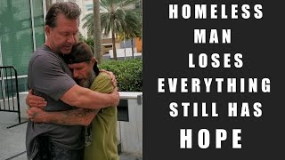 Inspiring Interview with Homeless Man Who Lost Everything and Still Has Hope