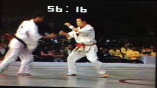 極真アーカイブス 第9回 全日本 1回戦 岩崎弥太郎 vs 今里健一
