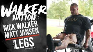 Nick Walker | Leg day with Mat…