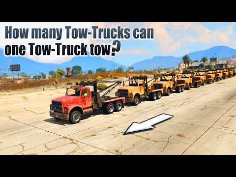 GTA V - How many Tow-Trucks can one Tow-Truck tow?