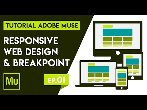 #01 Membuat Responsive Web Design Dengan Breakpoint - Tutorial Adobe Muse Bahasa Indonesia