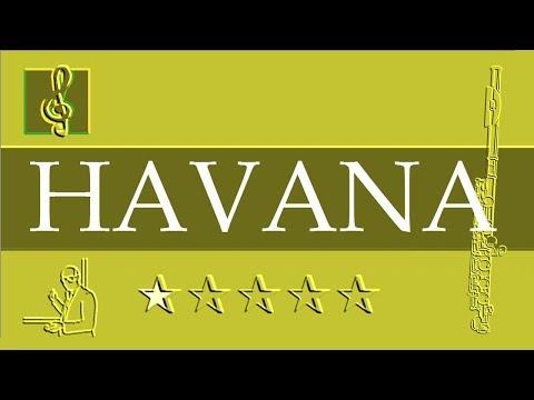 Flute Notes Tutorial - Camila Cabello - Havana ft. Young Thug (Sheet Music)