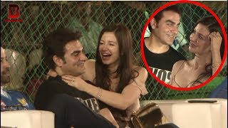 Arbaaz Khan with His New Girlfriend Arrive At Box Box Out Xeries Grand Finale