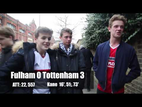 Fulham 0 Tottenham 3 | We Panicked! | Fulham FC Fan Reaction