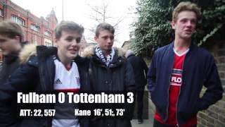 Fulham 0 Tottenham 3 | We Panicked! | Fulham FC Fan Reaction