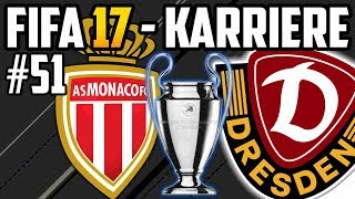 Das erste Mal: CHAMPIONS LEAGUE!! - FIFA 17  Dresden Karriere: Lets Play #51