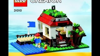 Lego Club Build Instructions For Lego Creator Treehouse Set #31010 (3 Of 3) Lakehouse