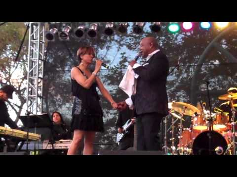 Peabo Bryson performs A Whole New World live at the BB Jazz Festival 2012