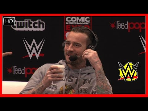 CM Punk talks about WWE fans still Chanting his name! Wrestling Chants