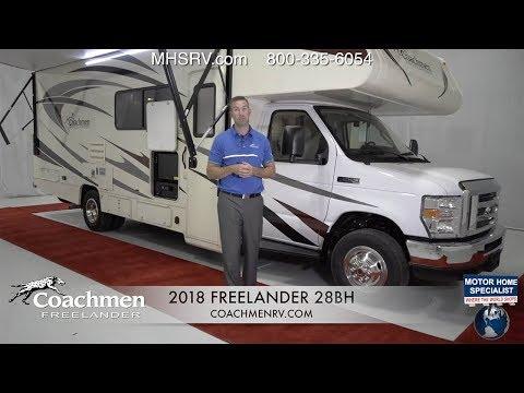 2018 Coachmen Freelander 28BH All New Power Bunk Class C RV for Sale @ MHSRV.com