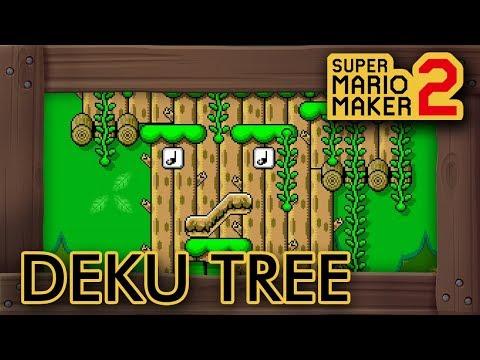 Super Mario Maker 2 - Amazing Zelda OoT Deku Tree Dungeon